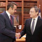Η συνάντηση του πρωθυπουργού με τον Μάριο Ντράγκι
