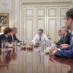 Σειρά συναντήσεων του Πρωθυπουργού  με εκπροσώπους κορυφαίων εταιρειών που έχουν επενδύσει ή σκοπεύουν να επενδύσου