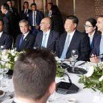 Ολοκληρώθηκε το γεύμα που παρέθεσε ο πρωθυπουργός, Κυριάκος Μητσοτάκης, στον πρόεδρο της Κίνας, Σι Τζινπίνγκ