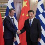 Η συνάντηση του Πρωθυπουργού Κυριάκου Μητσοτάκη με τον Πρόεδρο της Κίνας Xi Jinping στη Σαγκάη