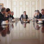 Συνάντηση του πρωθυπουργού και στελεχών της ΤΕRNA SpA, ανεξάρτητου διαχειριστή μεταφοράς ηλεκτρικού ρεύματος