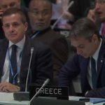 Ο πρωθυπουργός Κυριάκος Μητσοτάκης, στη Διάσκεψη του ΟΗΕ για το Κλίμα στη Μαδρίτη
