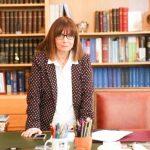Η Αικατερίνη Σακελλαρόπουλου, Πρόεδρος της Ελληνικής Δημοκρατίας