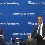 Ο Πρωθυπουργός στο Atlantic Council, για τις σχέσεις Ελλάδας – ΗΠΑ