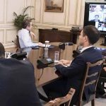 Τηλεδιάσκεψη του Πρωθυπουργού,  για τα μέτρα που πήρε η κυβέρνηση για να στηρίξει την οικονομία