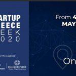 Από 4 έως 10 Μαΐου 2020, θα πραγματοποιηθεί Startup το  Greece Week