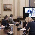 Τηλεδιάσκεψη του Πρωθυπουργού Κυριάκου Μητσοτάκη ενόψει της συνεδρίασης του Eurogroup