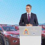 Δωρεά 20 πυροσβεστικών οχημάτων, της εταιρείας Παπαστράτος