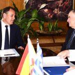 O Υπουργός Εθνικής Άμυνας συναντήθηκε με τον Πρέσβη της Ισπανίας