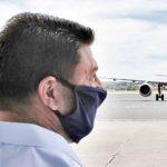 Ο Νίκος  Χαρδαλιάς, σε 18 περιφερειακά αεροδρόμια της χώρας που ανοίγουν από 1η Ιουλίου