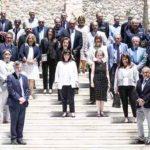 Η ΠτΔ με τα τα μέλη της Εθνικής Επιτροπής Προστασίας της Δημόσιας Υγείας έναντι του Covid19