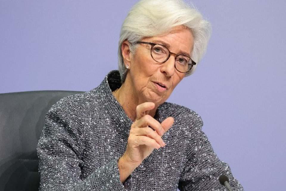Κρ. Λαγκάρντ: Ύφεση -8,7% εως -12,6% αναμένεται στην ευρωζώνη. Ανάκαμψη από το δεύτερο εξάμηνο με πολλά ερωτηματικά