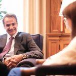 Με την ΠτΔ συναντήθηκε ο Πρωθυπουργός
