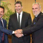 Συμφωνία μεταξύ ΔΕΠΑ, ΔΕΣΦΑ και Οργανισμού Λιμένος Πάτρας