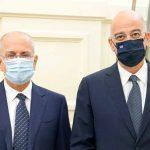 Με τον πρεσβευτή του Ισραήλ στην Ελλάδα Γιόσι Αμράνι συναντήθηκε ο Ν.Δένδιας