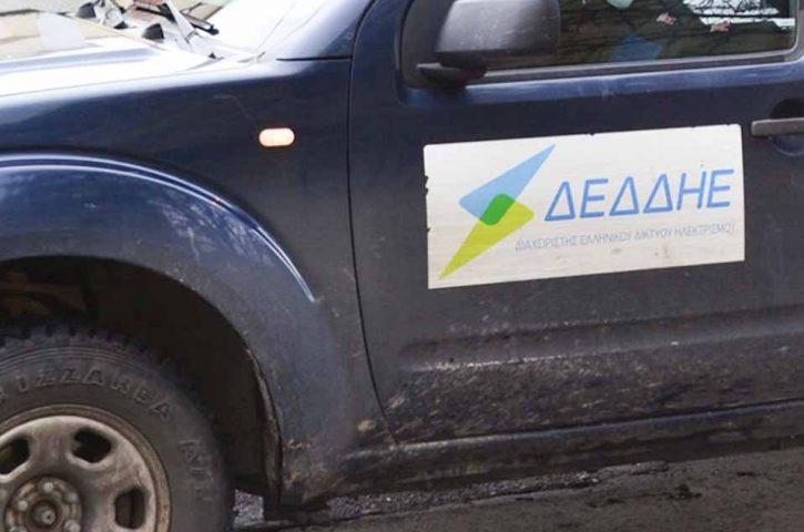 Σε εξέλιξη, οι εργασίες αποκατάστασης της ηλεκτροδότησης στην Εύβοια