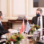 Η συνάντηση του Πρωθυπουργού, με τον Yang Jiechi