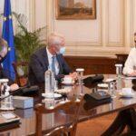 Ο Πρωθυπουργός, συναντήθηκε με στελέχη της Fraport
