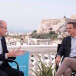 Συζήτηση του Πρωθυπουργού, με τον ιστορικό και συγγραφέα Yuval Noah Harari