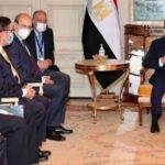 Η Συνάντηση  του Κωστή Χατζηδάκη, με  τον Πρόεδρο της Αιγύπτου  Abdel Fattah el Sissi