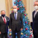 Συνάντηση Κωστή Χατζηδάκη  με τον υπουργό Ενέργειας των ΗΠΑ Dan Brouillette