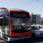 Δοκιμαστικά δρομολόγια, με επιβάτες, του ηλεκτρικού λεωφορείου της BYD, στην Αθήνα