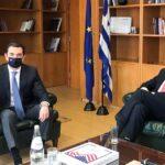 Συνάντηση Υπουργού Περιβάλλοντος και Ενέργειας, Κώστα Σκρέκα, με τον Πρέσβη των ΗΠΑ