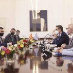 Κυριάκος Μητσοτάκης σε Ζ. Ζάεφ: Ενίσχυση των διμερών μας σχέσεων, με έμφαση στην οικονομία και στην ενέργεια