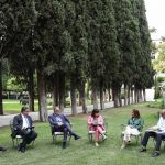 Συναντήσεις στον κήπο του Προεδρικού Μεγάρου – Συζήτηση για την κλιματική αλλαγή