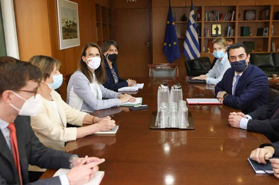 Στο υπουργείο περιβάλλοντος και ενέργειας, η  Sophie Wilmès